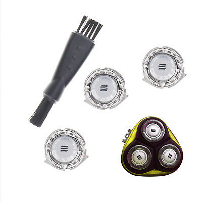 3Pcs Shaver Heads Replacement for Philips HQ3 HQ4 HQ55 HQ56 Razor Blades