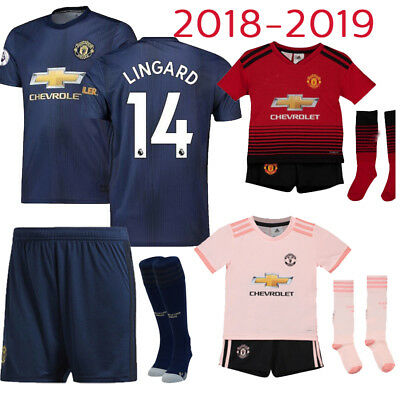 2019 Football Kits Sportswear Soccer Suits Training Shits For Kids Boys 3-14Yrs