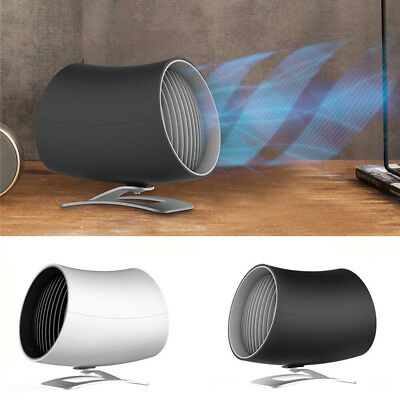 Portable USB Mini Fan Heaters Winter Home Office Desktop Electric Air Warmer