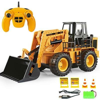 RC Truck Car Bulldozer 2.4G 6CH Wireless Remote Control Toys Gift For Kids Gifts