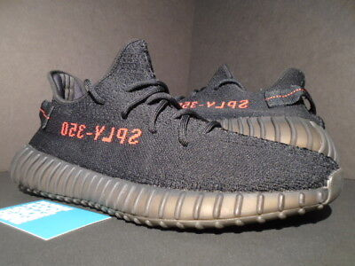 5fe90a6260f2 ... new zealand 2017 adidas yeezy boost 350 v2 kanye west bred core black  red 500 cp9652