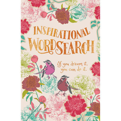 Inspirational Wordsearch (Paperback), Non Fiction Books, Brand New
