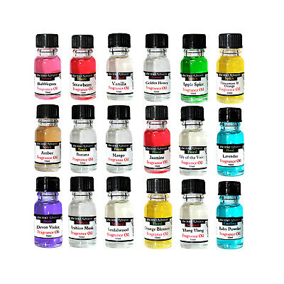 Fragrance Oil Packs Candle Making Bathbombs Soap Slime Scents Designer Diffusers