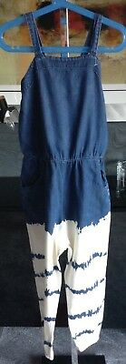 Next Girls Lovely Cotton Playsuit Brand New Age 8 Years