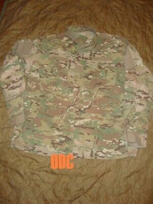 Army Military Surplus Multicam Combat Coat Jacket Flame Resistant Medium OEF GI