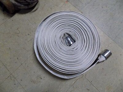 "FIRE HOSE CROKER 1 1/2"" BY 100 FEET, SERVICE TEST TO 250PSI *used"
