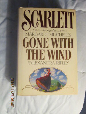 """""""scarlett"""" Hard Cover Book, Sequel To Gone With The Wind 820 Pages, Classic"""