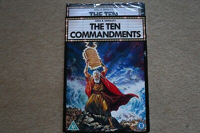 The Ten Commandments     Brand New Sealed Genuine Uk Dvd