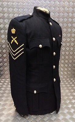 Genuine British Army No1 Welsh Guards Dress Jacket Blues Fully Buttoned