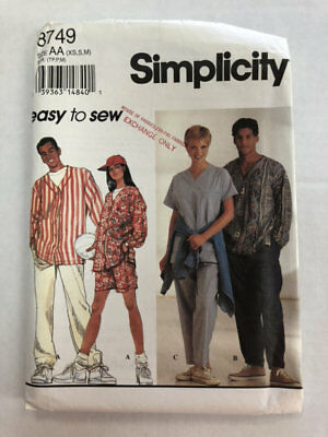 SIMPLICITY 7030 MS//Mens 2-Hour Pants /& Shorts~5 lengths PATTERN XS-S-M//L-XL UC