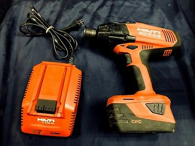 "Hilti Sid 8 A-18 Heavy Duty 7/16"" Impact Driver Package"