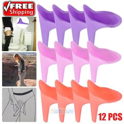 Womens Female Portable Urinal Urine Funnel Camping Travel Emergency Toilet NEW