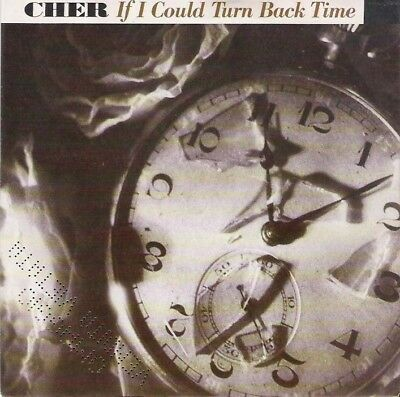 """CHER - If I could turn back time - 7"""" MINT"""
