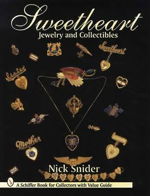 Antique Military Sweetheart Jewelry Collector Guide Patriotic Pins Necklaces Etc