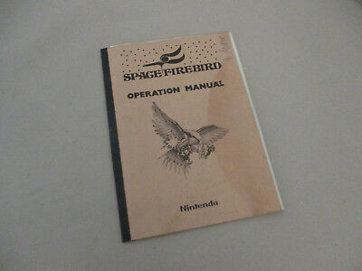 Operation Manual Nintendo Space Firebird , Video , Arcade , PCB