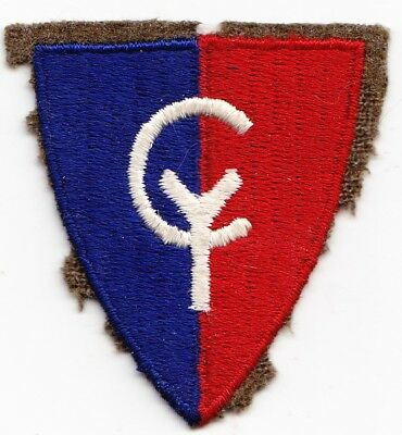 38th Infantry Division  embroidered on wool    WW2 US Army