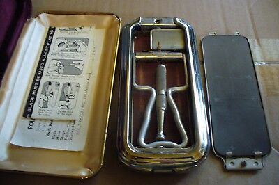 Vintage Rolls Razor from England In Hard Carry Case