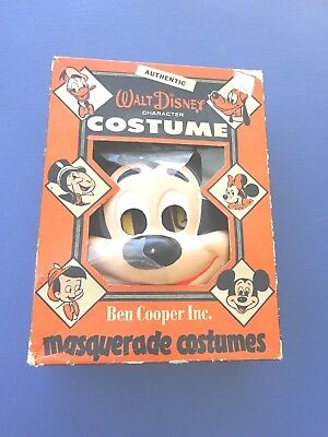 1950's Ben Cooper Walt Disney Mickey Mouse Costume, Size Youth Large