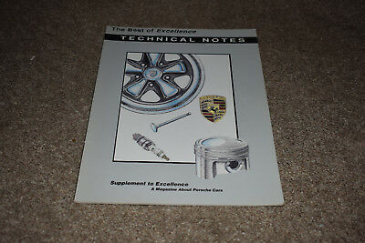 The Best of Excellence magazine: Technical Notes Feb 1994 Porsche 911 944 924