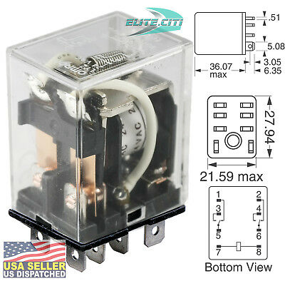 LY2 8 PIN Plug in Relay for zone control relay bo-ARGO ... Omron Ly Vac Relay Wiring Diagram on