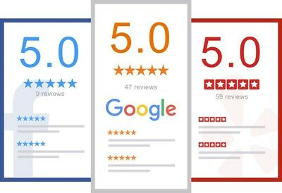 5 STAR Google Reviews | Boost Your Business / grow more and more