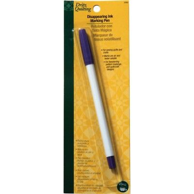 Pen Purple Disapprng - Dritz Quilting Disappearing Ink Marking Pen