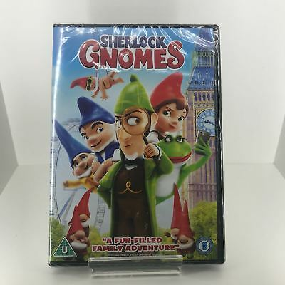 Sherlock Gnomes DVD - Brand New and Sealed Fast and Free Delivery