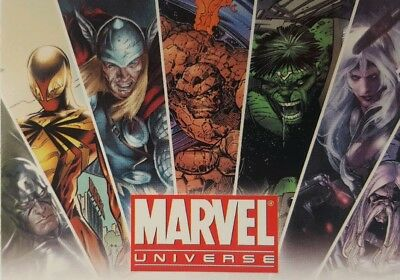 MARVEL UNIVERSE   Promo Card P1 UPPER DECK 2011
