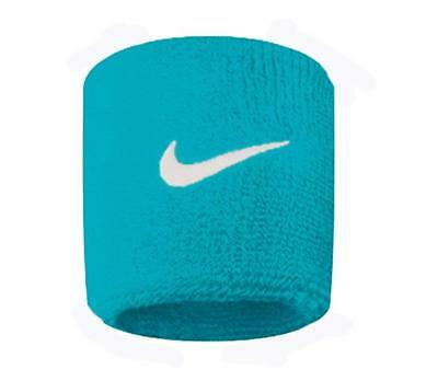 Nike Swoosh Single Width Wristbands - Neo Turquoise - Free P&P