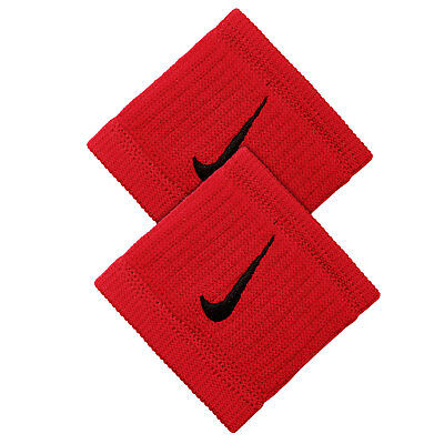 Nike Dri-Fit Reveal Single Width Wristbands - University Red - Free P&P