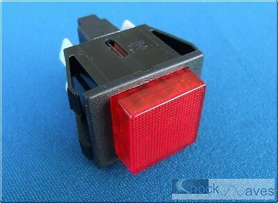 Coffee Machine Maker Power Switch Red Neon suit Gaggia Cubika Illuminated 16A