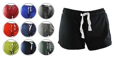 Womens New Look Shorts Jersey Tie Up Soft Cotton Size 6 to 18 Ladies