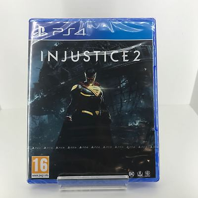Injustice 2 - PS4 / Playstation 4 - New and Sealed Fast and Free Delivery