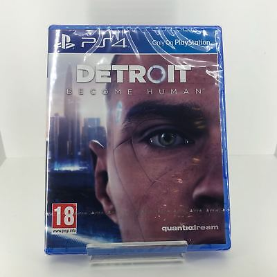 Detroit Become Human PS4 / Playstation 4 - New and Sealed Fast and Free Delivery