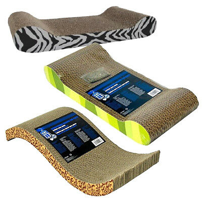 Catit Scratching Board For Cat / Kitten with Catnip Scratcher Pattern Lounge