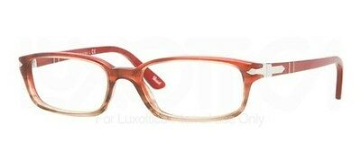 Persol Gafas Gafas Modelo 2973-V Color 925 Rojo Degradado Marrón 50mm Nuevo