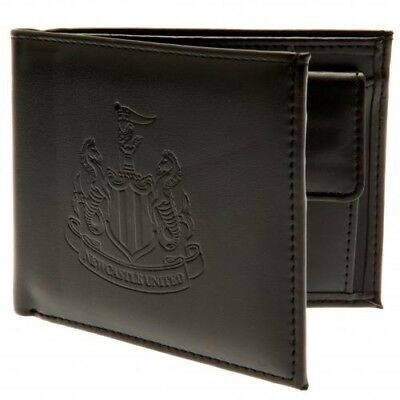 Newcastle United Football Club Debossed Crest PU Wallet with Free UK P&P