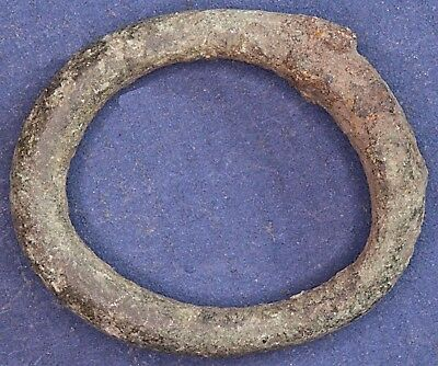 Iron Age Danubian Celtic Proto ring coin, 1st to 5th Century BC 20mm *[13451]
