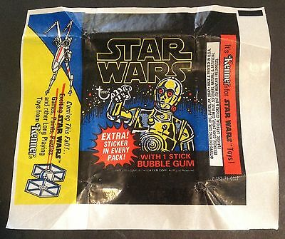 1977- 1983 Master Empty Wrapper Set For Star Wars / Empire / Jedi  - 27 Wrappers