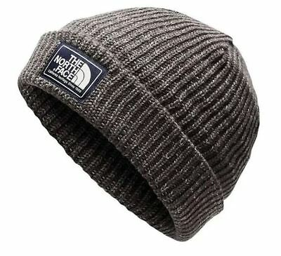 New The North Face Salty Dawg Beanie Regular Gray Warm Winter Hat