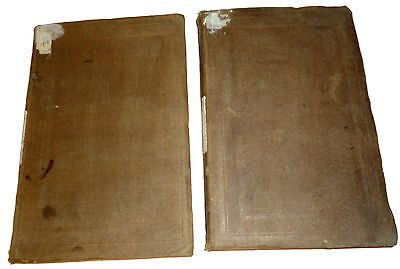 1862 Critical and Historical ESSAYS by Lord MACAULAY Lot of 2 books in Russian