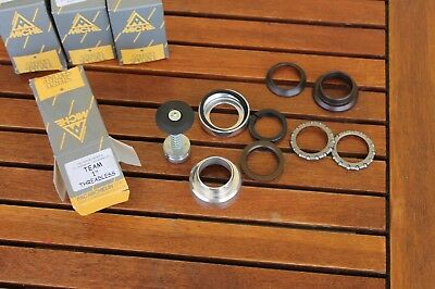 NOS Headset team ahead 1 with expander cap  silver MICHE bike parts