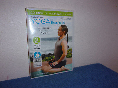 Rodney Yees Yoga for Beginners (DVD, 2009, Canadian)