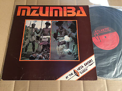Mzumba - At The Heia Safari Ranch - Lp - Atlantic Atc 8002 - South Africa 1976