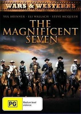THE MAGNIFICENT SEVEN : NEW DVD : Yul Brynner