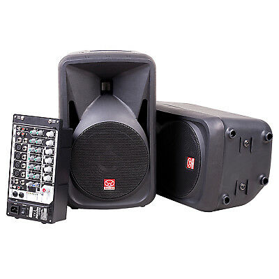 Customer Returned Superlux SP108 300W Compact Portable PA System