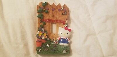 SANRIO Hello Kitty Enameled Ceramic over Light Switch Cover certified