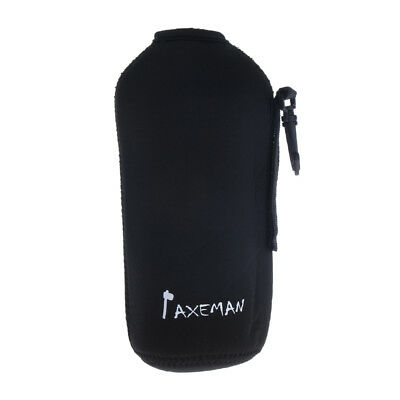 Insulated Neoprene Water Bottle Holder Carrier Pouch Camping Hiking 600ml