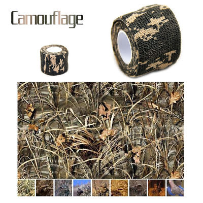 lots Army Camo Wrap Shooting Hunting Camouflage Stealth Webbing Outdoor Tape