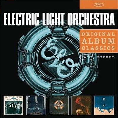ELECTRIC LIGHT ORCHESTRA 5CD NEW On Third Day/Face/World Record/Discovery/Time